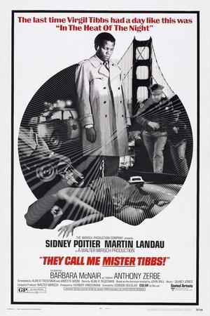 They Call Me Mister Tibbs!, Sidney Poitier, 1970