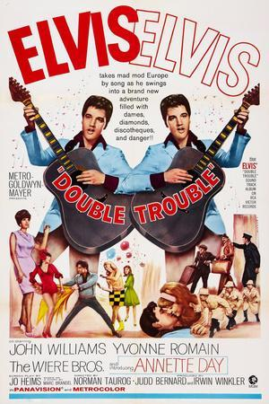 Double Trouble, Yvonne Romain, Elvis Presley, Annette Day, the Wiere Brothers, 1967