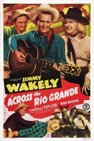 Across the Rio Grande, Dub Taylor, Jimmy Wakely, Reno Browne, 1949