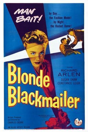 Blonde Blackmailer, (aka Stolen Time), Susan Shaw, 1955