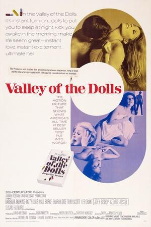 Valley of the Dolls, Sharon Tate, Patty Duke, Susan Hayward, 1967