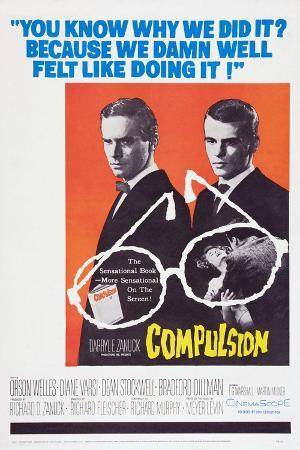 Compulsion, Orson Welles, Dean Stockwell, 1959