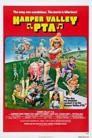 Harper Valley P.T.A, Barbara Eden (Raised Arms), 1978