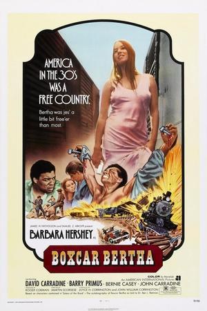 Boxcar Bertha, Center: Barbara Hershey, 1972