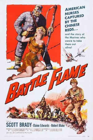 Battle Flame, Bottom Right: Scott Brady, 1959