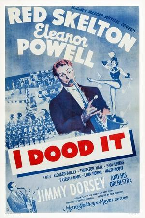 I Dood It, Jimmy Dorsey, Red Skelton, Eleanor Powell, 1943