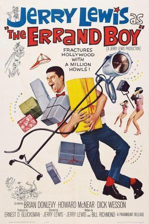 The Errand Boy, Jerry Lewis, 1961