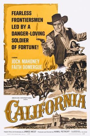 California, Jock Mahoney, Faith Domergue, 1963