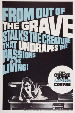 The Curse of the Living Corpse, 1964
