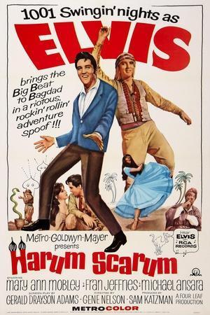 Harum Scarum, Elvis Presley, 1965