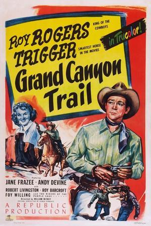 Grand Canyon Trail, from Left: Jane Frazee, Roy Rogers, 1948
