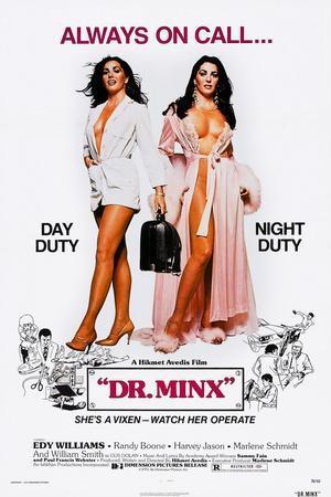 Dr. Minx, Edy Williams, 1975