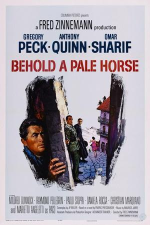 Behold a Pale Horse, Gregory Peck, Anthony Quinn, Omar Sharif, 1964