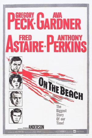 On the Beach, Gregory Peck, Ava Gardner, Fred Astaire, Anthony Perkins, 1959
