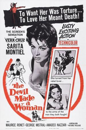 The Devil Made a Woman, (Aka a Girl Against Napoleon, Aka Carmen La De Ronda), Sara Montiel, 1959