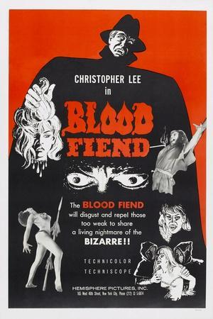 Blood Fiend, (aka Theatre of Death), Christopher Lee, 1967