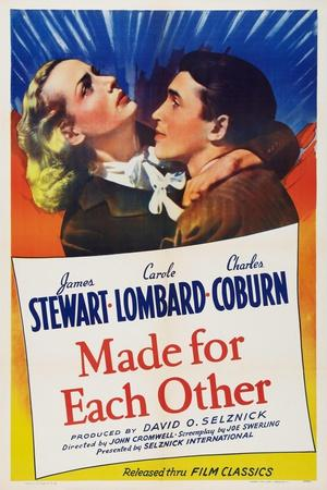 Made for Each Other, from Left: Carole Lombard, James Stewart, 1939