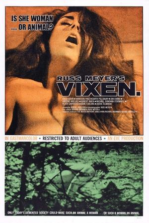 Vixen, Erica Gavin, 1968,