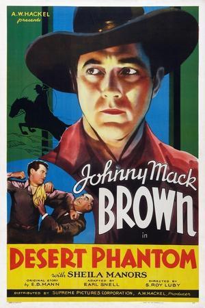 Desert Phantom, Johnny Mack Brown, 1936