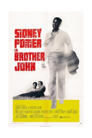 Brother John, Beverly Todd, Sidney Poitier, 1971