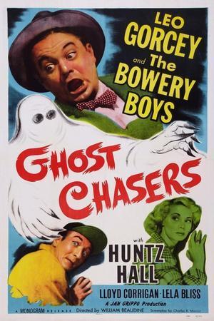 Ghost Chasers, Top Left: Leo Gorcey; Bottom Left: Huntz Hall, 1951