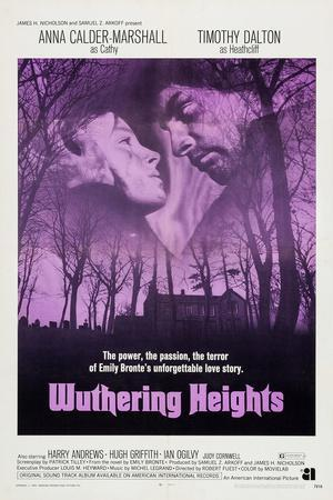 Wuthering Heights, from Left: Anna Calder-Marshall, Timothy Dalton, 1970