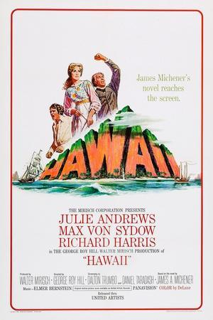 Hawaii, Richard Harris, Julie Andrews, Max Von Sydow, 1966