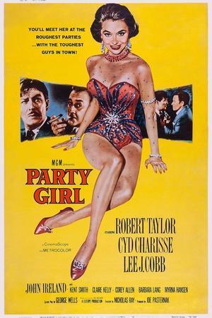 Party Girl, from Left: Robert Taylor, Lee J. Cobb, Cyd Charisse, Robert Taylor, John Ireland, 1958
