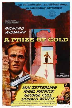 A Prize of Gold, Richard Widmark, 1955