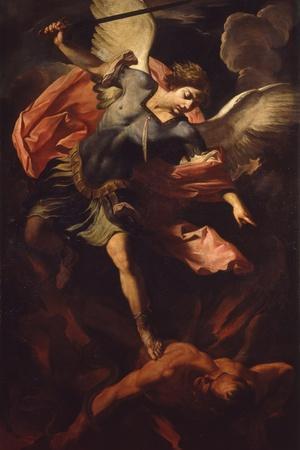 Archangel Michael Defeating Lucifer