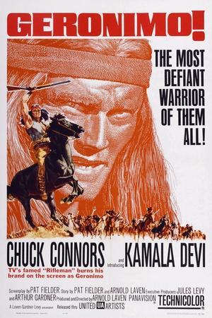 Geronimo!, Chuck Connors, 1962