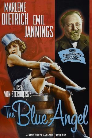 The Blue Angel, Marlene Dietrich, Emil Jannings, 1930