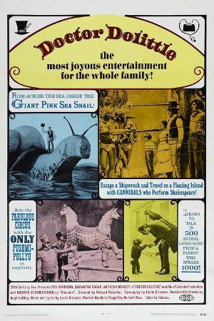 Doctor Dolittle, Rex Harrison, 1967