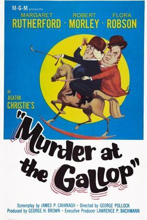 Murder at the Gallop, Margaret Rutherford, Robert Morley, 1963
