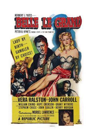 Belle Le Grand, 1951