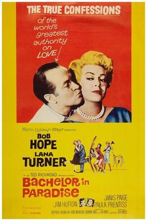 Bachelor in Paradise, from Left: Bob Hope, Lana Turner, 1961
