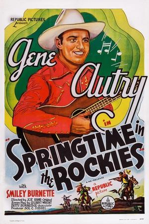 Springtime in the Rockies, Gene Autry, 1937