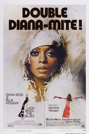 Lady Sings the Blues, Diana Ross, 1972; Double Bill; Mahoggany, Diana Ross, 1975