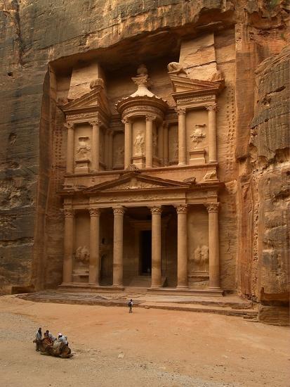 Al Khazneh Or Treasury At Petra Jordan Photo At
