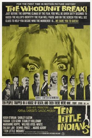 Ten Little Indians, (aka Agatha Christie's Ten Little Indians), 1965