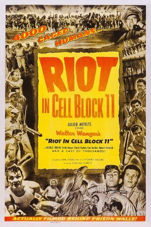 Riot in Cell Block 11, Neville Brand, (Bottom Right), 1954