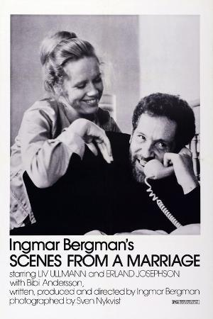 Scenes from a Marriage, Liv Ullmann, Erland Josephson, 1973