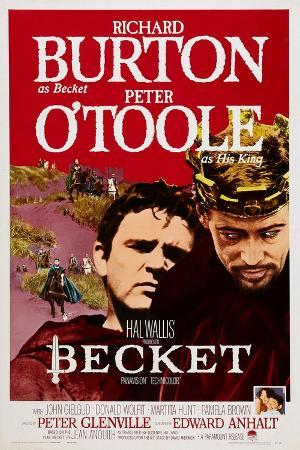 Becket, Richard Burton, Peter O'Toole, 1964