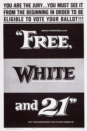 Free, White and 21, 1963