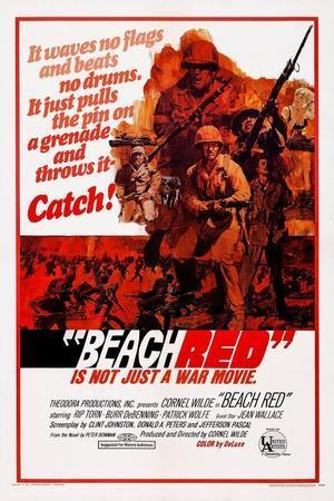 Beach Red, Cornel Wilde (Front), 1967
