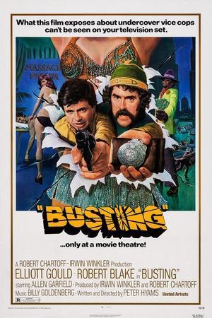 Busting, Robert Blake, Elliott Gould, 1974