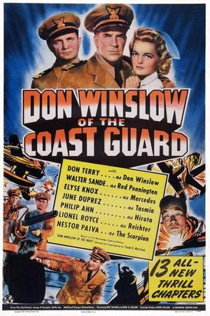 Don Winslow of the Coast Guard, Walter Sande, Don Terry, Elyse Knox, 1943