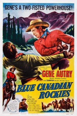 Blue Canadian Rockies, Gene Autry (Top Right), 1952