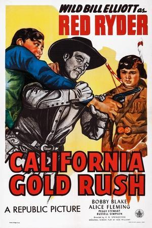 California Gold Rush, Center: Bill Elliott; Right: Robert Blake, 1946