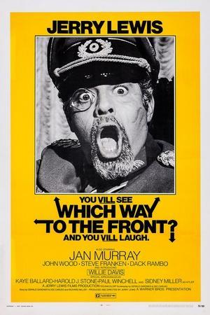 Which Way to the Front?, Jerry Lewis, 1970